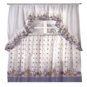 Kitchen Curtains At Sears Ellis Curtain Kitchen Harvest Fruit Ruffled Swag Curtains In From Sears