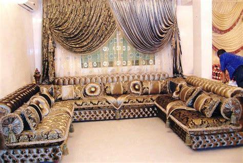Supérieur Rideaux Salons Marocains Photos #4: Double-rideaux-de-salon-marocain-luxueux.jpg