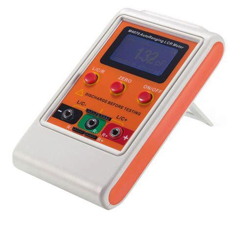 inductance bridge meter professional handheld lcr bridge capacitance inductance meter free shipping dealextreme