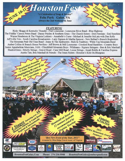 houston festivals 2015 galax va houstonfest galax fire department