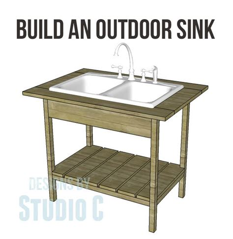best 25 outdoor kitchen sink ideas on