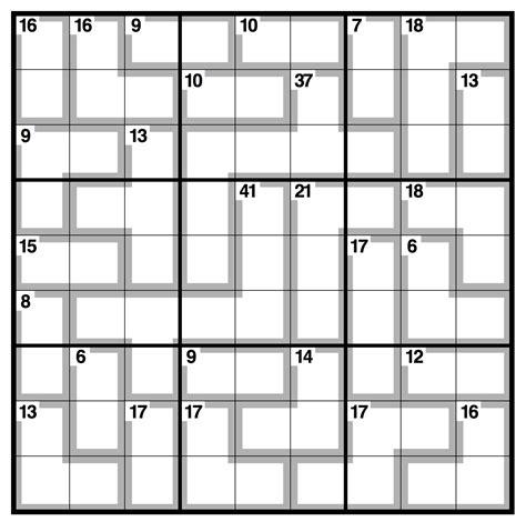 printable intermediate killer sudoku related keywords suggestions for killer sudoku