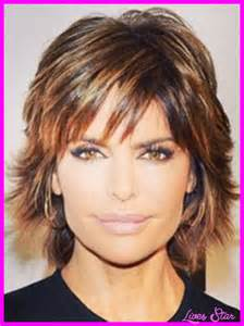 insruction on how to cut rinna hair sytle back view of shag haircut short hairstyle 2013