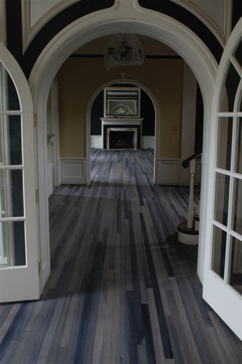 Gray Stained Wood Floors by Grey Stained Wood Floors Panda S House