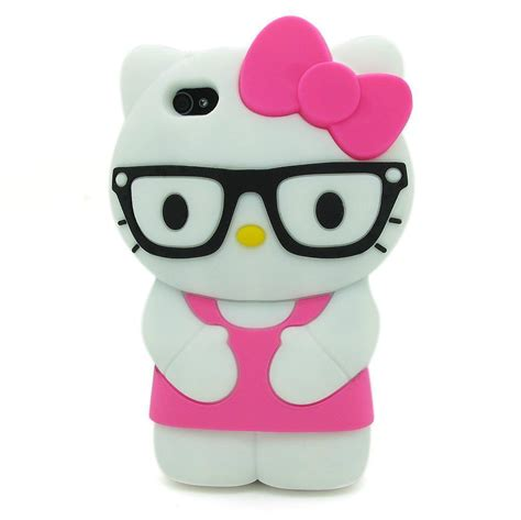 Hp Iphone 4 S for apple iphone 4 4s 3d character hello glasses soft cover hp ebay