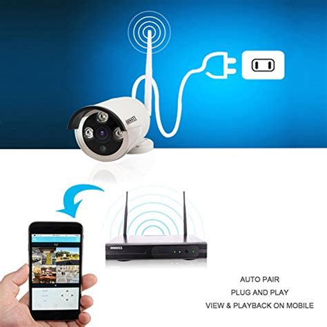 ip security system oossxx 8 channel hd 1080p wireless network ip security