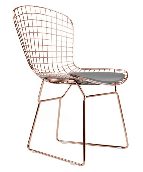 gold bertoia side chair gold dining chairs mid