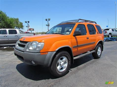 2003 atomic orange nissan xterra xe v6 4x4 48866942 photo 3 gtcarlot car color galleries