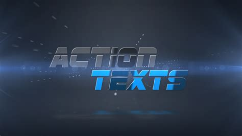 action texts