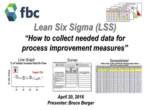 lean six sigma for how improvement experts can help in need and help improve the environment books lean six sigma lss how to collect needed data for