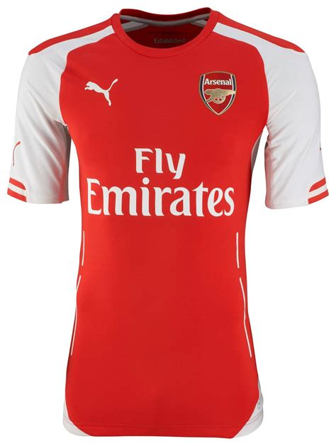 Jersey Arsenal Home Sleeves 2013 2014 arsenal home authentic jersey 2014 2015 14 15 ebay