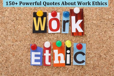 powerful quotes  work ethics