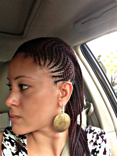 simple and versatile african hair style 51 latest ghana braids hairstyles with pictures