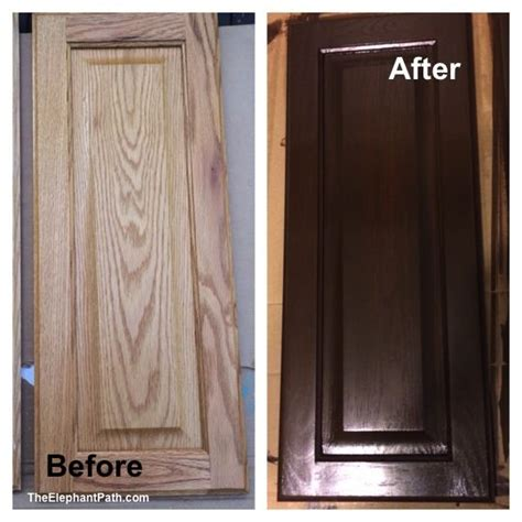 Gel Stained Cabinets Before And After by The World S Catalog Of Ideas