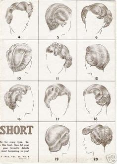 1940s hairstyles book pdf 1000 images about 40s hair on pinterest 1940s hair