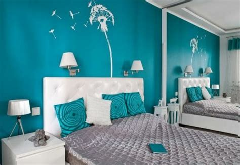 blaues schlafzimmer paint colors wandfarbe t 252 rkis universell und fabelhaft f 252 r ihr zuhause