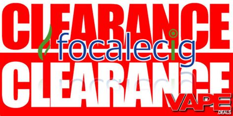 clearance section focalecig clearance section updated vape deals
