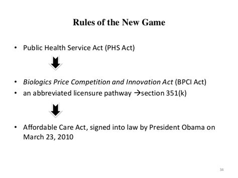 public health service act section 351 generics and biologics