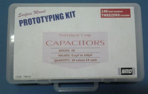 capacitor smd kit capacitor kit 0805 e6 series smd nz comkey in india s electronic component store