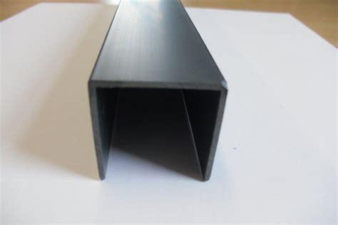 U Section Plastic plastic planks accessories click and fix