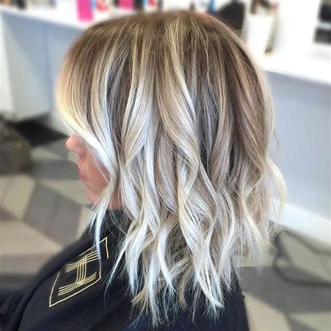 beautiful brunette hair with platinum highlights pictures hot trebd 2015 41 hottest balayage hair color ideas for 2016 stayglam