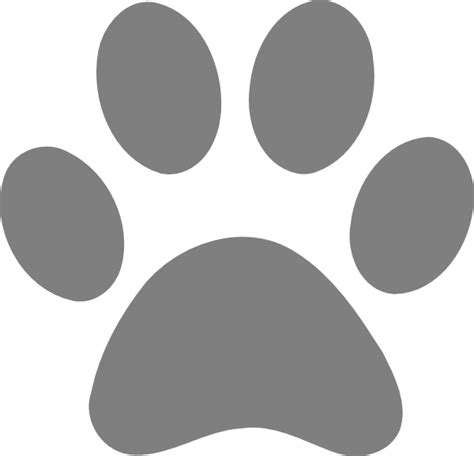 Large Paw Print Clip by Large Paw Print Clipart Clipart Collection Lsu Tiger