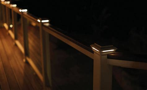 solar deck rail lights led deck lights and why you should use them interior