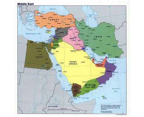 middle east map large maps of the middle east middle east maps collection of