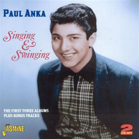 who sings swinging paul anka singing swinging cd album at discogs