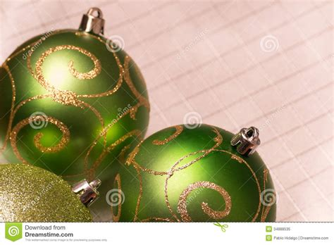 green christmas tree decorations selective focus royalty