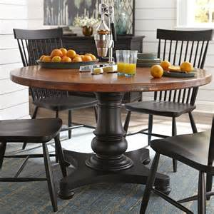 Copper Dining Room Tables 54 quot round copper top dining table
