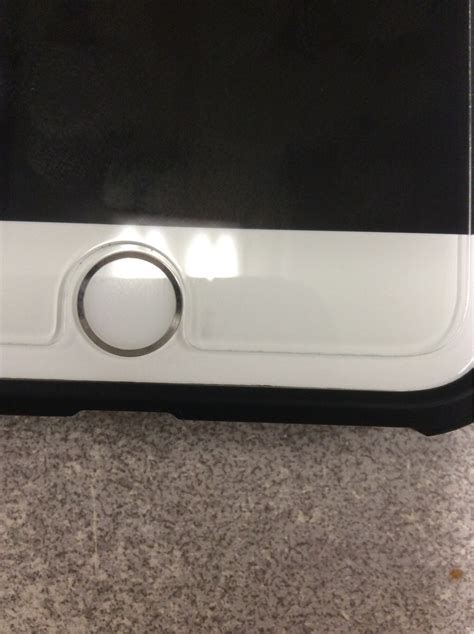 bubble appeared  tempered glass iphone
