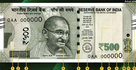 3 ways to identify new rs 500 and how to identify original or genuine rs 2 000 and rs 500