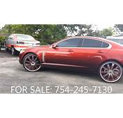 AcewhipsNET  Candy Red Jaguar XF On 24 SAVINI Rims YouTube