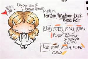 prismacolor skin tone colored pencils prismacolor skin hair guide book deconstructing jen