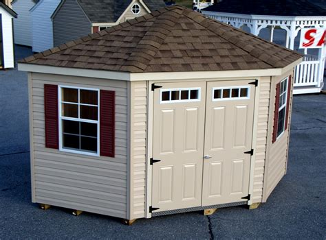 Cheap Corner Sheds by Metal Storage Buildings Nc Corner Sheds 10 X 10