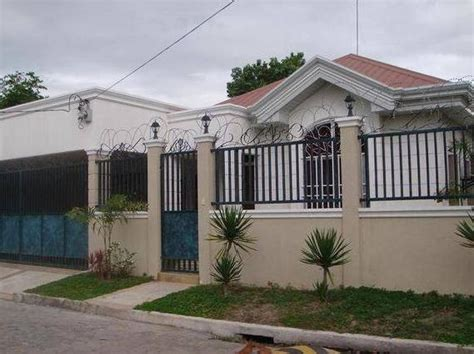 Home Gate Design Philippines Concrete Fence And Steel Gate Design With Photos In The