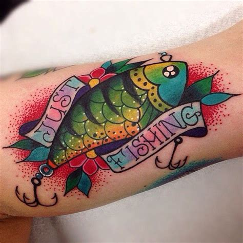 fishing lure tattoo designs on the worst customer thank you kelleyxbaby