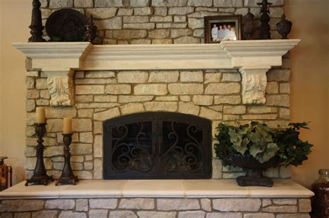 Top Interior Design Firms by Cast Stone Fireplace Indoor Fireplaces Cleveland By Architectural Justice