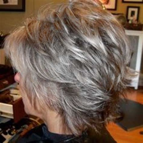 shag cuts for grey hair the 25 best short gray hairstyles ideas on pinterest