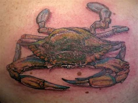 maryland crab tattoo designs us gemini tattoos