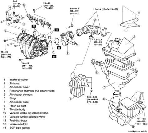 mazda 3 2 3l engine diagram 28 images cylinder 2004