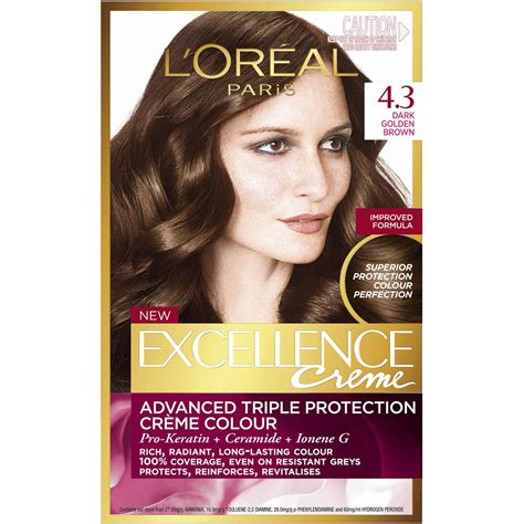 3 x l oreal excellence cr 232 me hair colour no 4 35 caramel brown ebay l oreal excellence cr 232 me 4 3 golden brown 1pk woolworths