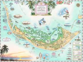 florida sanibel island map xplorer maps antique style maps