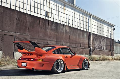 widebody porsche wallpaper 1995 porsche 911 widebody kit rwb coupe cars wallpaper