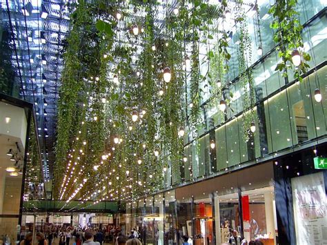 The Gardens Mall Stores by F 252 Nf H 246 Fe Hanging Garden Shopping Mall Munich