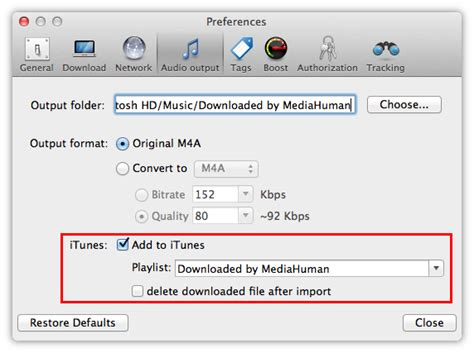 download mp3 converter to itunes how to download youtube music to itunes using mediahuman