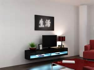 led tv furniture furniture l shaped floating tv cabinets with storage under black led tv on white wall