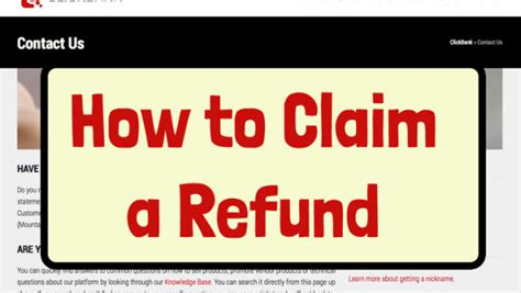 click bank uk how to claim a refund on clickbank in 5 easy steps