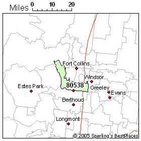 loveland colorado zip code map best place to live in loveland zip 80538 colorado